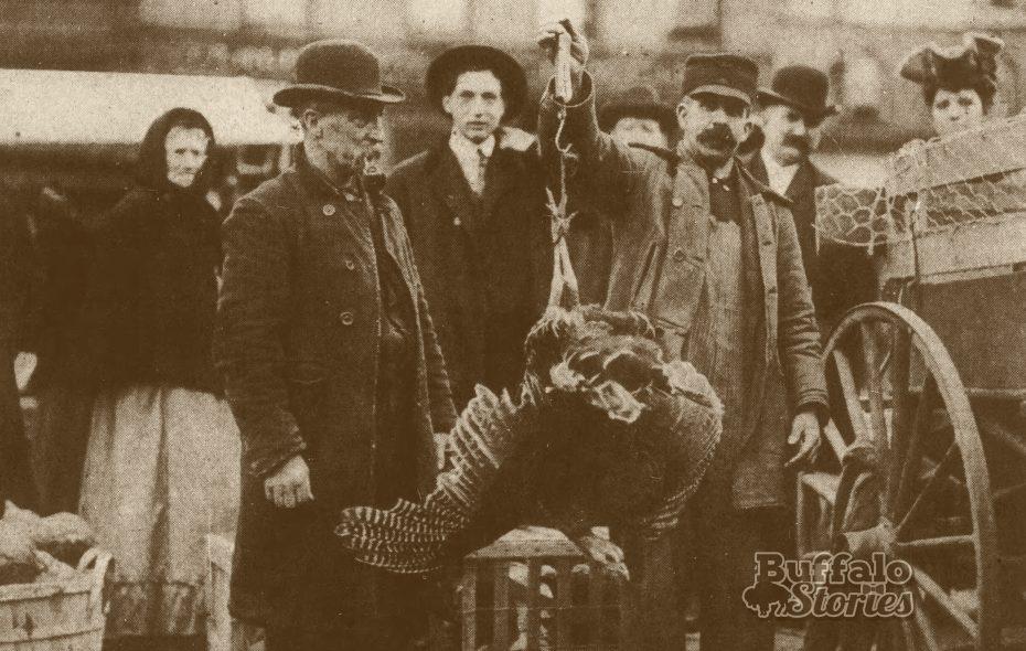 Buffalo in 1905: Shopping for a Christmas turkey