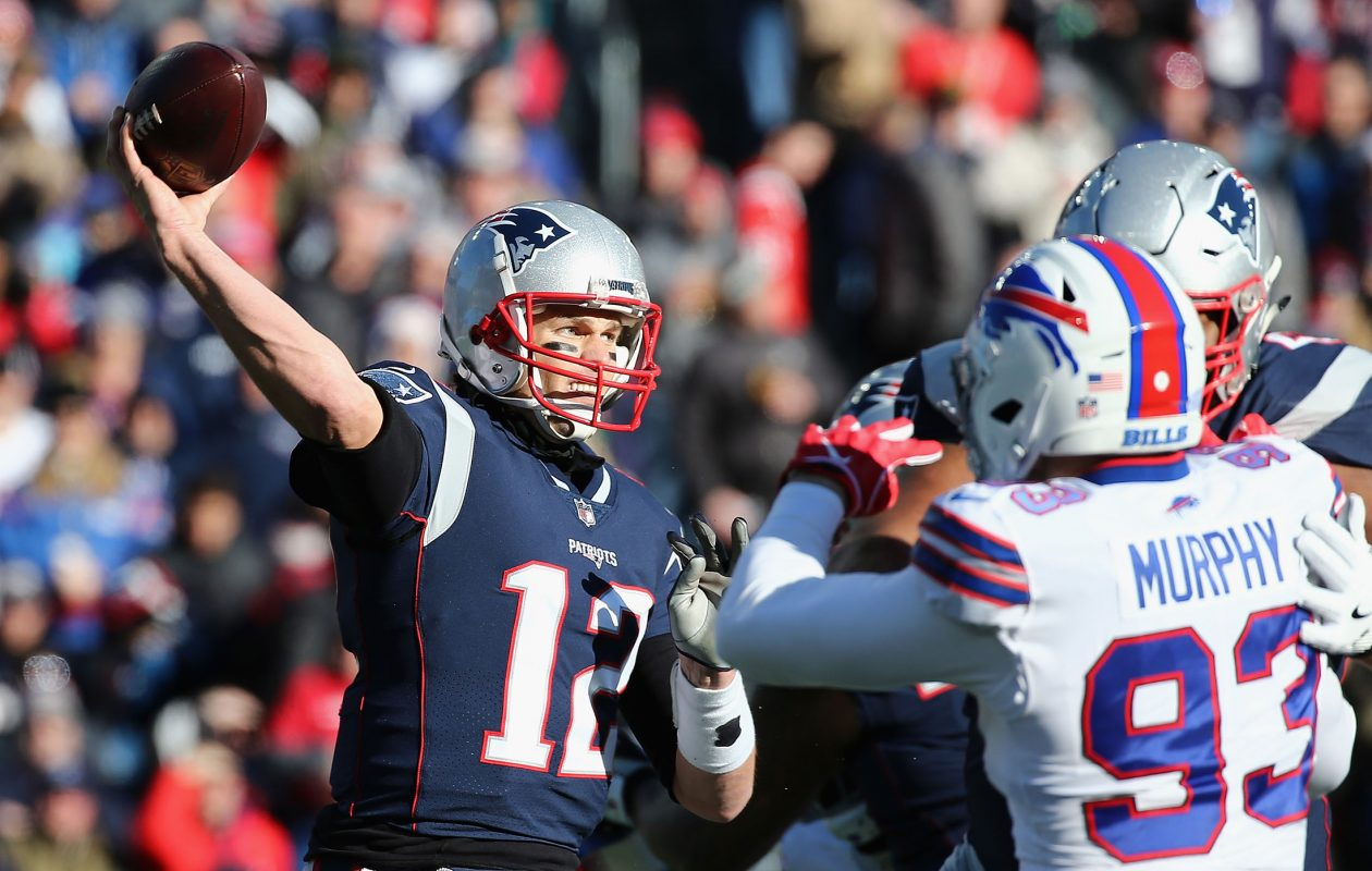 Tom Brady looks to win a sixth Super Bowl Sunday. (Getty Images)
