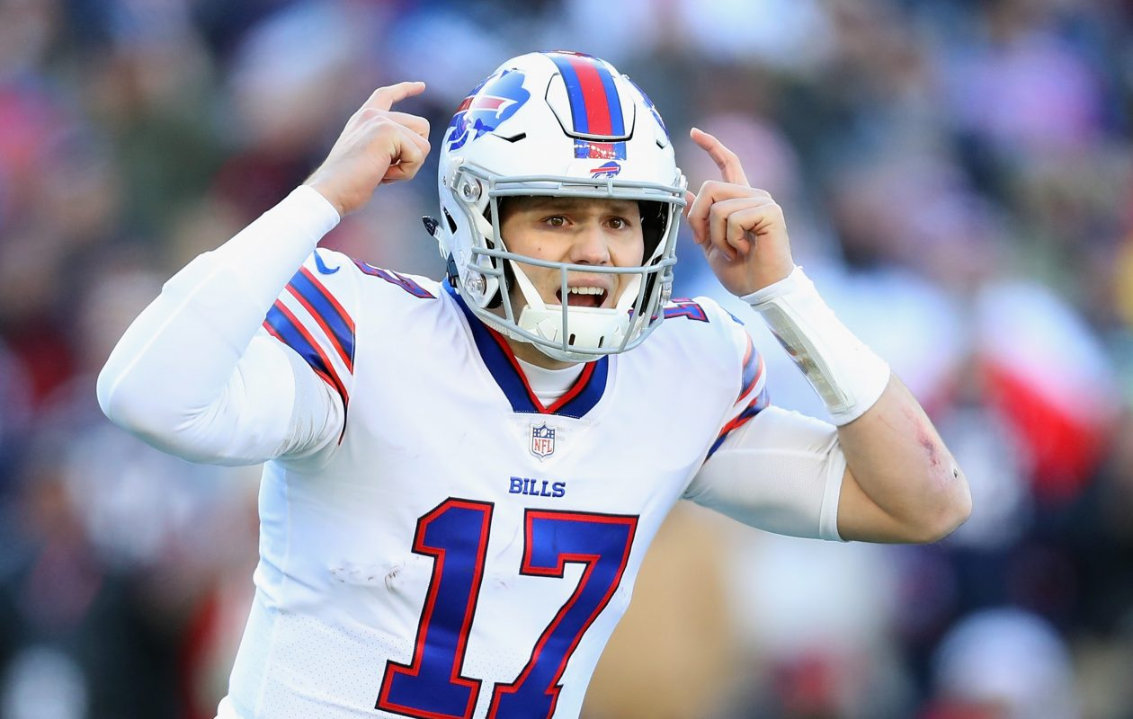 ba25fcee16b One-on-One Coverage  Bills  Josh Allen on rookie season