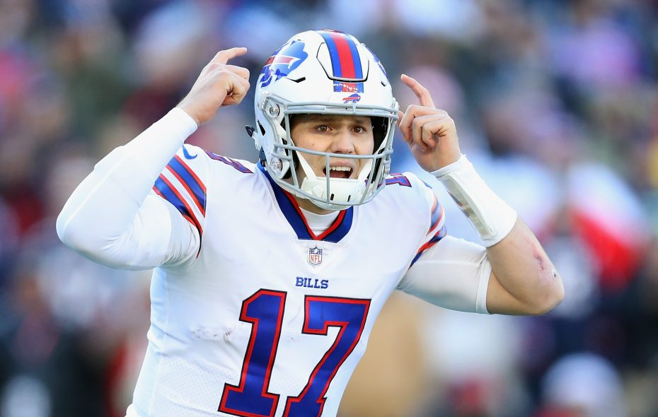 finest selection a7cb6 79347 Bills' Josh Allen on assessment by oddsmakers: 'Bet the over ...