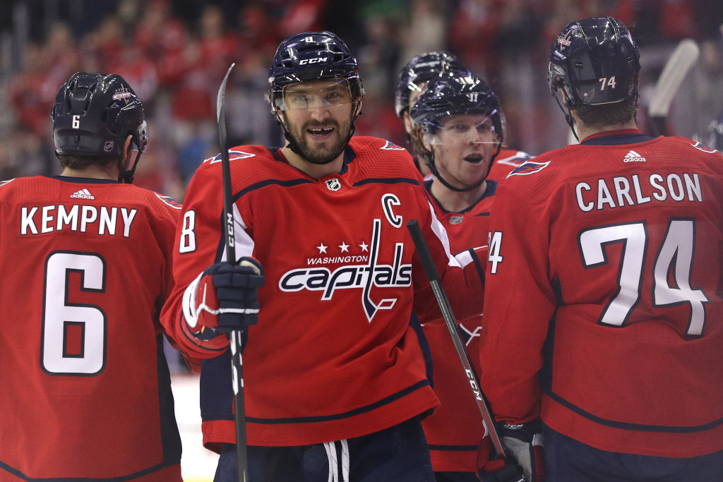 Alex Ovechkin leads the NHL with 28 goals this season. (Getty Images) 5253c16e498