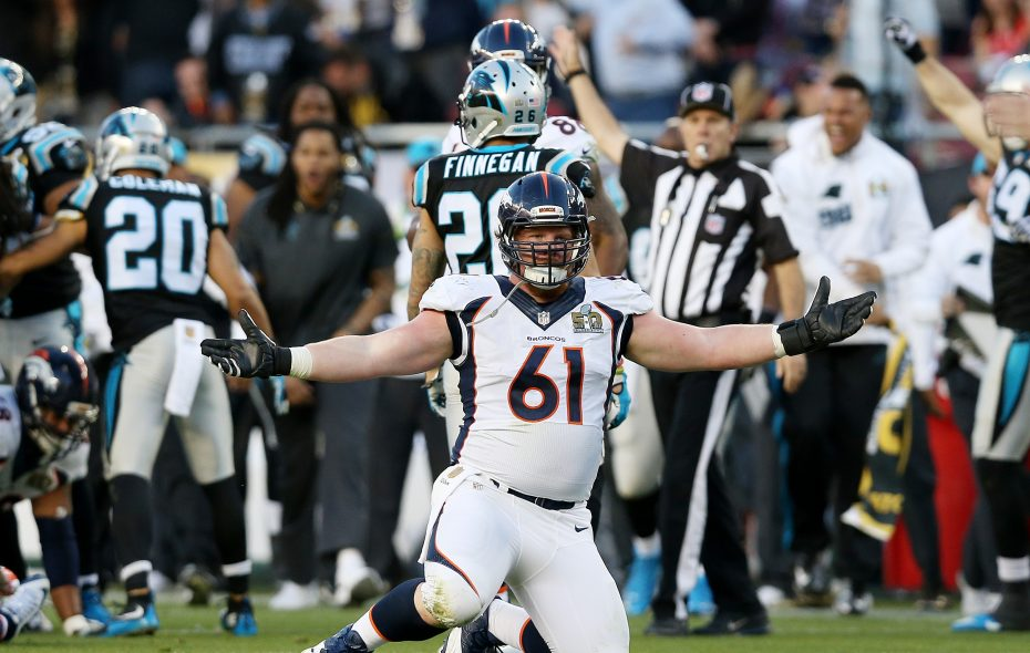 Matt Paradis could be a free-agent option at center. (Getty Images)