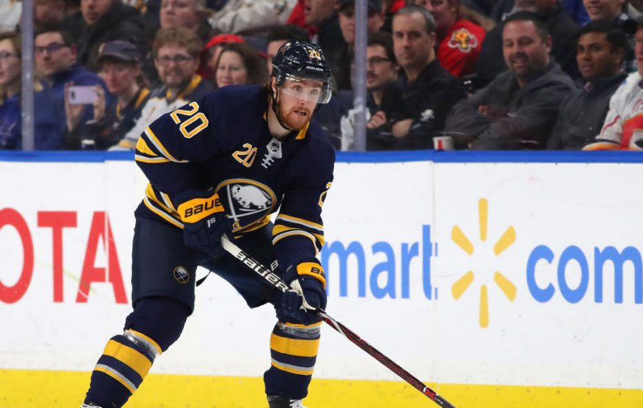 Scott Wilson has yet to play in a game for the Buffalo Sabres this season. (Getty Images)