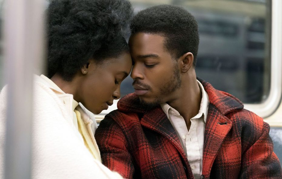 """Kiki Layne and Stephan James fight the odds in """"If Beale Street Could Talk."""" (Tatum Mangus / Annapurna Pictures)"""
