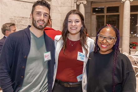 Ignite Buffalo, a business grant organization and mentorship program to help small businesses, hosted its holiday party on Thursday, Dec. 6, 2018, in the Gold Dome in Fountain Plaza. 43North and M&T Bank, also involved in Ignite Buffalo, were also well represented.