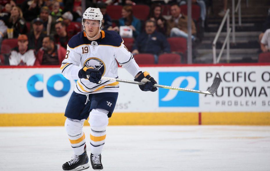 Jake McCabe is back in the lineup tonight after the Sabres were 3-3-3 without him. (Getty Images)