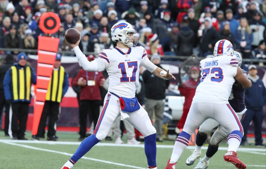 Buffalo Bills quarterback Josh Allen. (James P. McCoy/News file photo)
