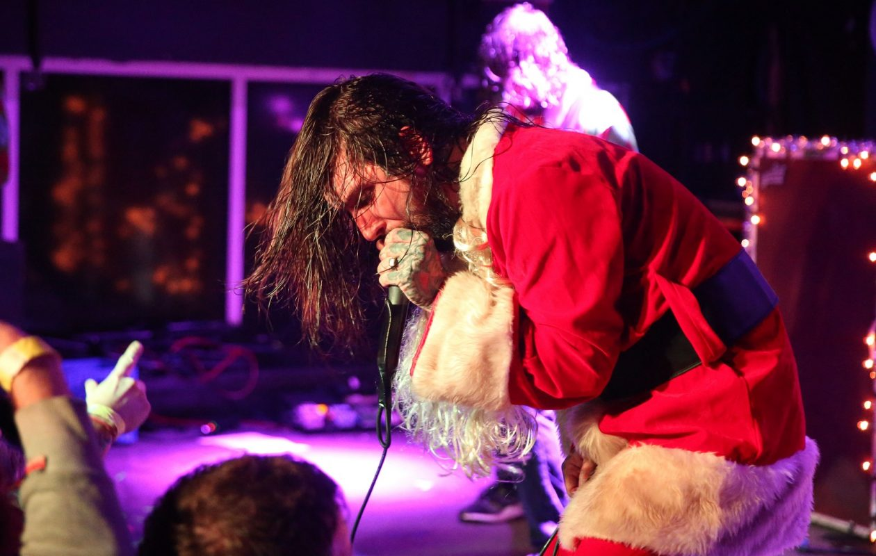 Keith Buckley tells Jeff Miers that 'The ETID family belongs to everyone there. The fierce defending of it makes perfect sense to me.' (Sharon Cantillon/Buffalo News file photo)