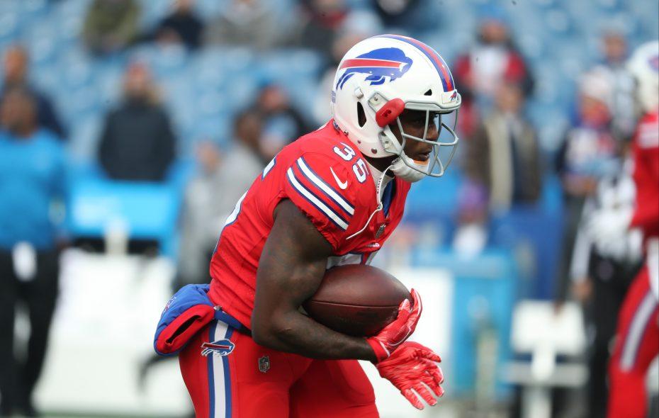 Bills running back Keith Ford is inactive Sunday. (James P. McCoy/Buffalo News)