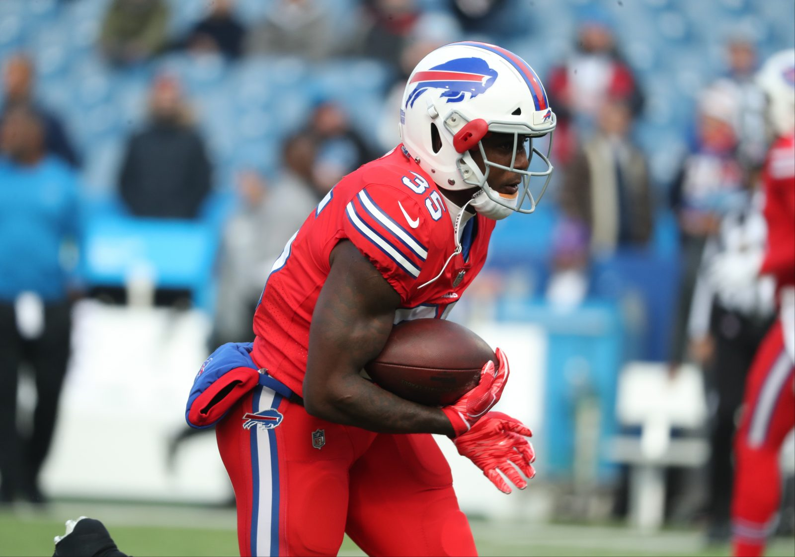 competitive price a9a7a 776ef Eddie Yarbrough, Keith Ford lead Bills' list of inactives against ...