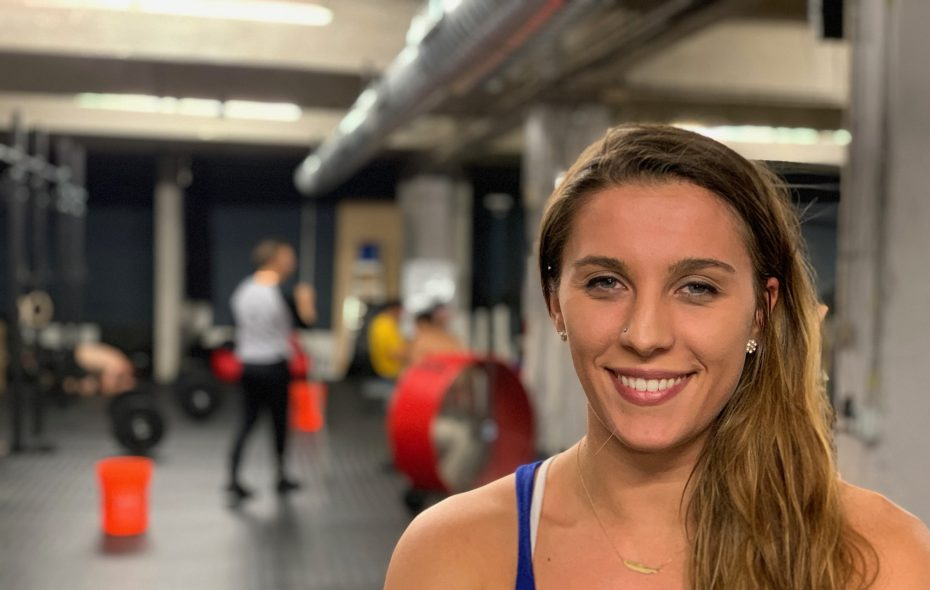 """Madeline Reale, 26, co-owner of RockPile Athletics, calls herself a """"washed-up"""" college basketball player who has improved her strength and overall health through CrossFit. (Photos by Scott Scanlon/Buffalo News)"""