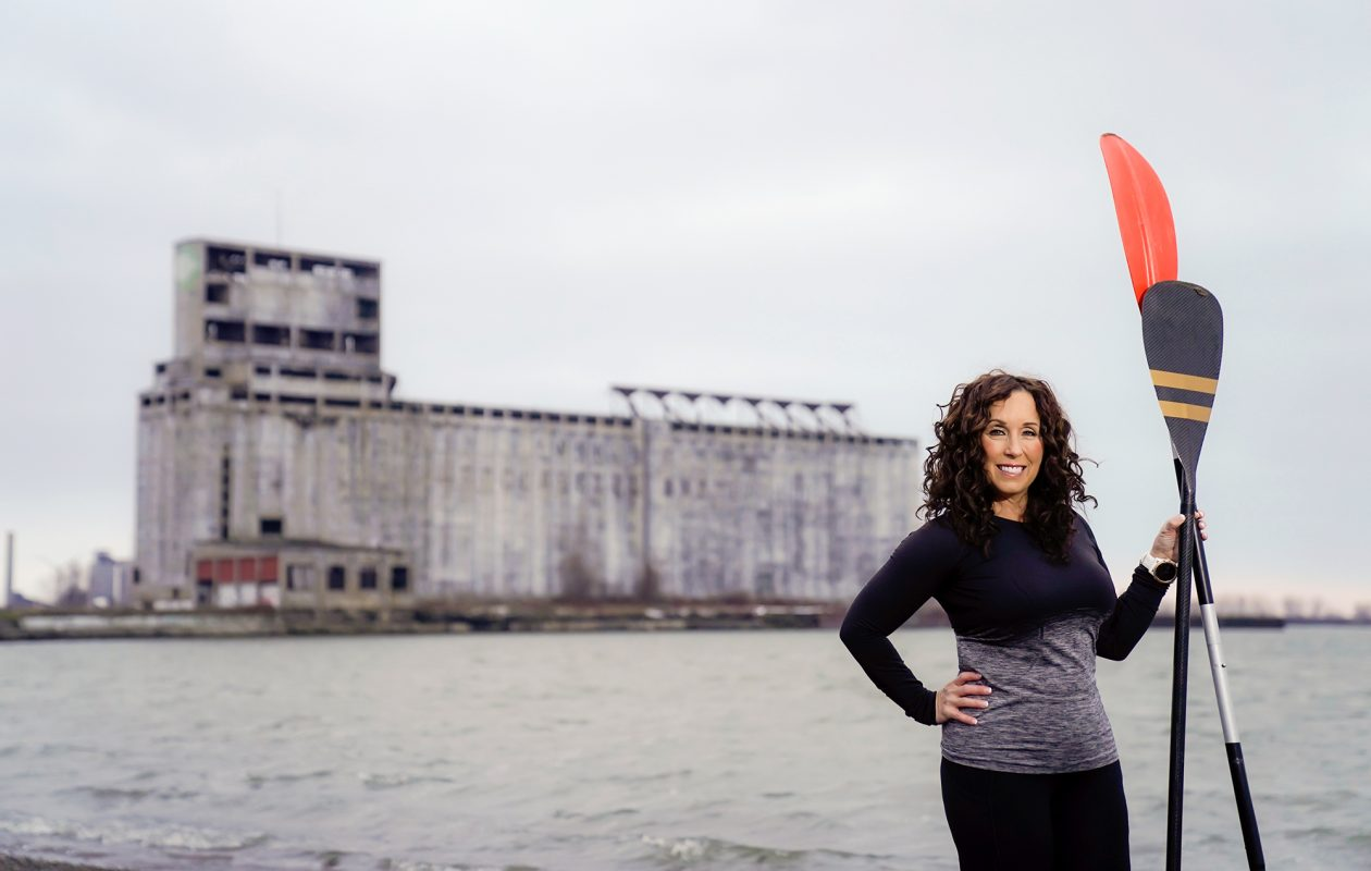 """Finding fresh new ways to engage in fitness is half the battle, say experts. """"I've had people who think yoga is so intimidating that they'd actually rather do it on a board out in the water,"""" says Yogis in Service instructor Nancy Maisano. (Dave Jarosz)"""