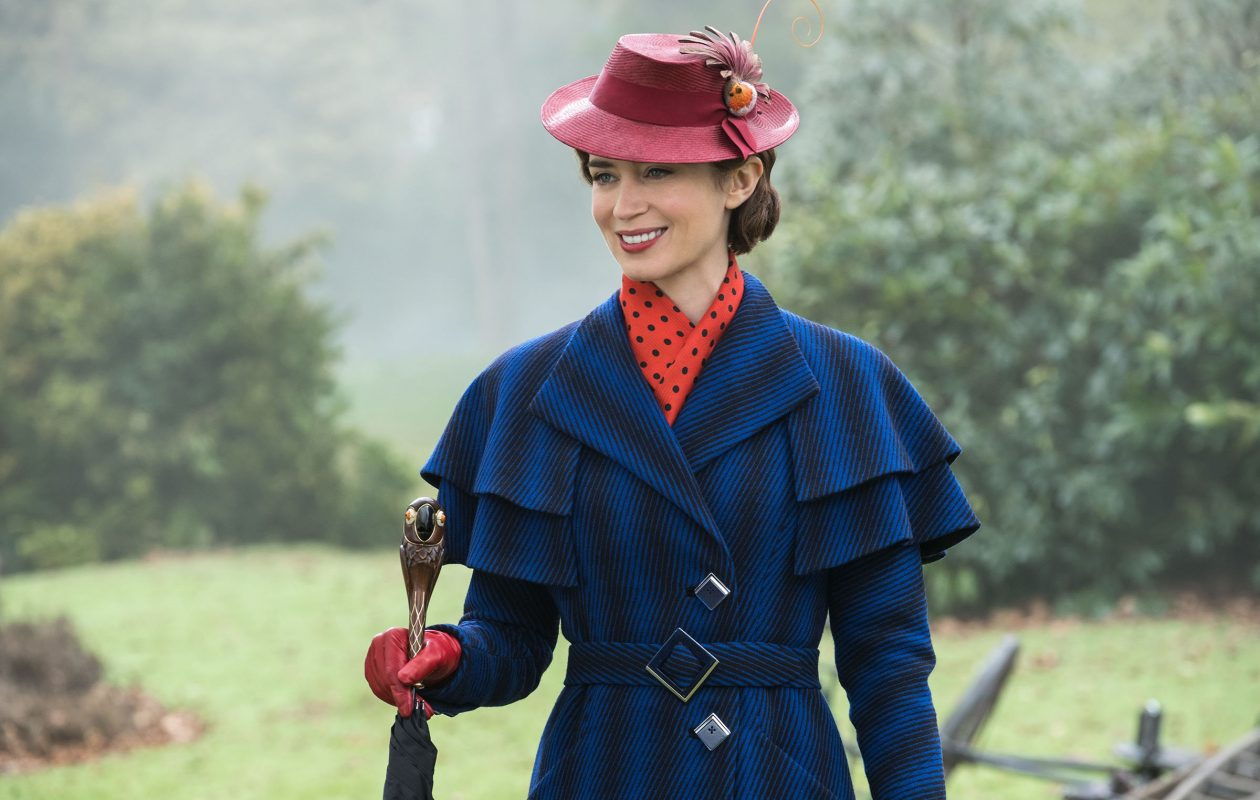 Emily Blunt is Mary Poppins in Disney's 'Mary Poppins Returns.'