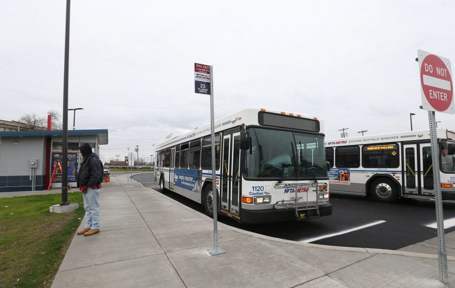 Univera Healthcare will provide $45,650 over three years to help support the GO Buffalo Mom program, which helps expectant mothers who are in need to use public transportation that will help improve prenatal care. (Sharon Cantillon/News file photo)