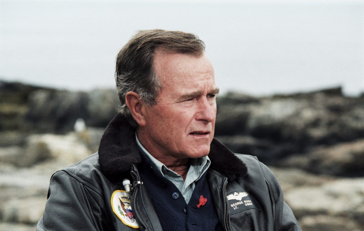 President George H.W. Bush. Bush, the 41st president of the United States and the father of the 43rd, who steered the nation through a tumultuous period in world affairs but was denied a second term, died Friday at 94. (Undated photo from George Bush Presidential Library via The New York Times)