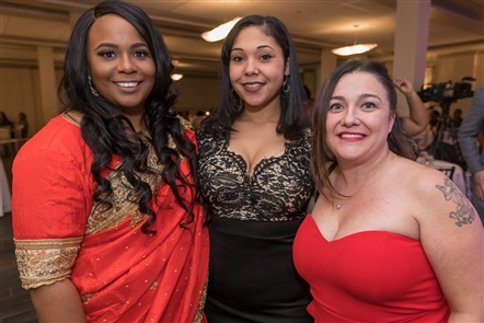 Smiles at Ramp Global Missions Gala in Shea's Seneca