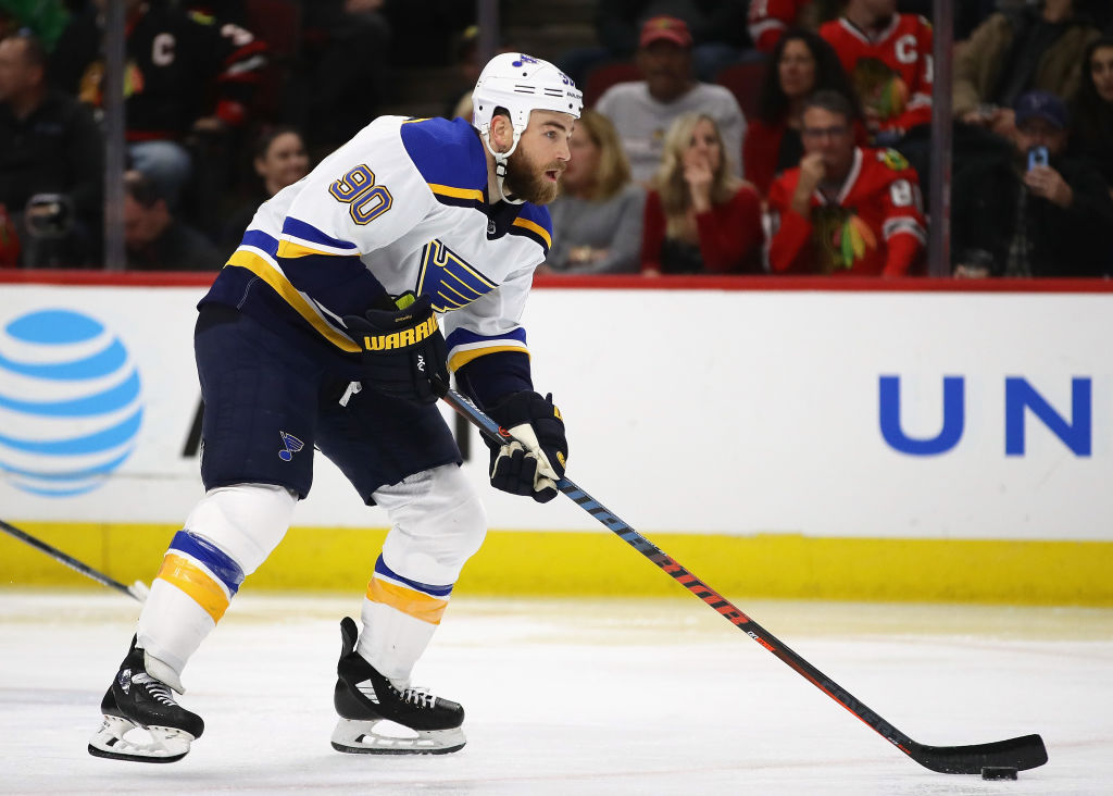 Ryan O'Reilly leads the Blues with 32 points in 34 games. (Getty Images)