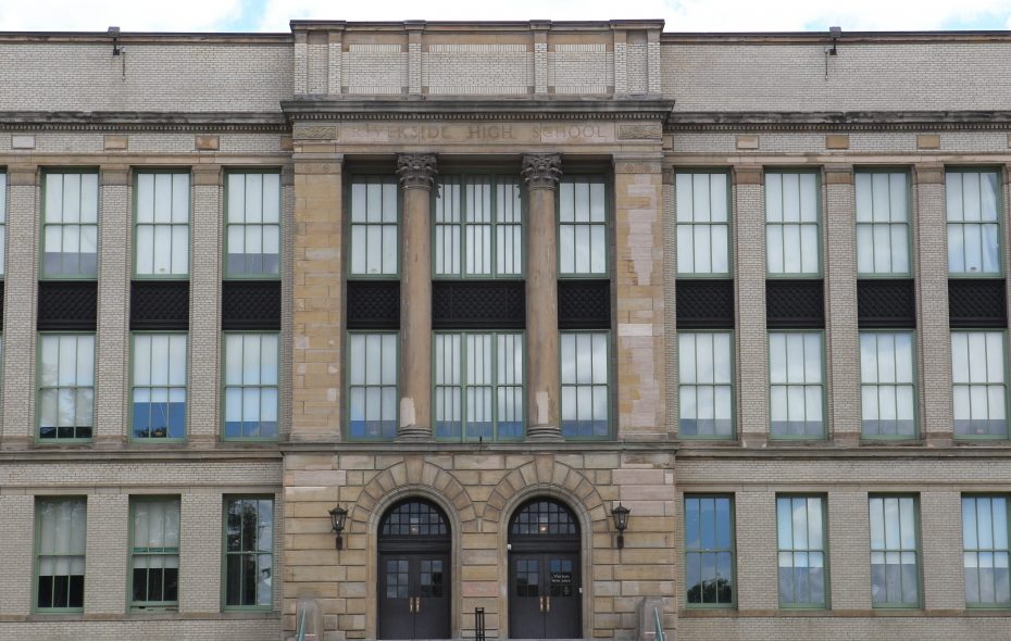 Riverside High School an option that was mentioned. (Sharon Cantillon/Buffalo News)