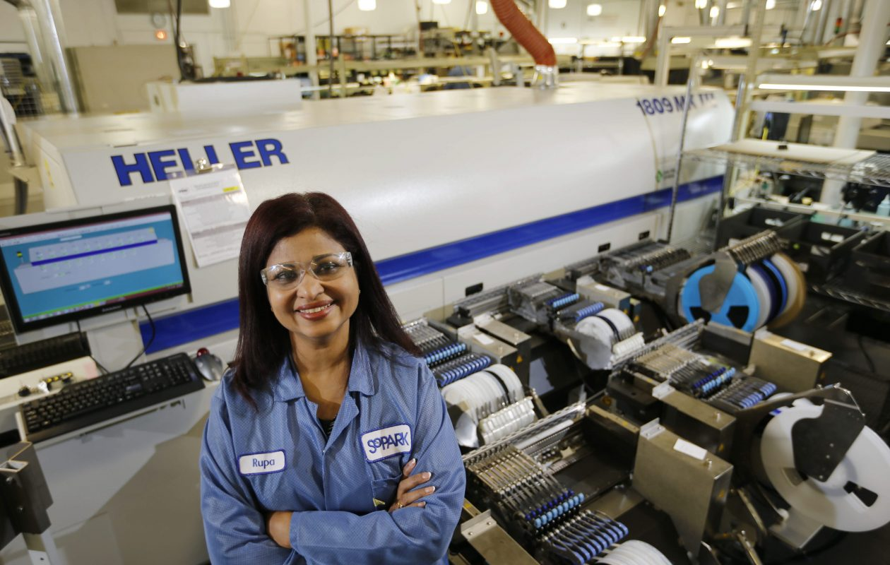 Rupa Shanmugam will become majority owner of SoPark Corp. (News file photo)