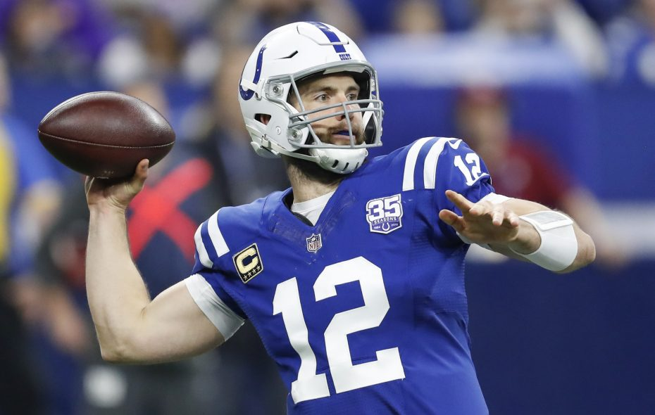 Andrew Luck and the Colts have had a big turnaround from last season. (Tribune News Service)