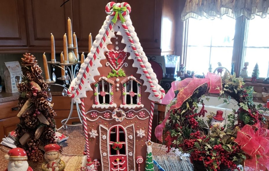 Angela Vacanti loves to decorate for Christmas. (Photo courtesy Angela Vacanti)