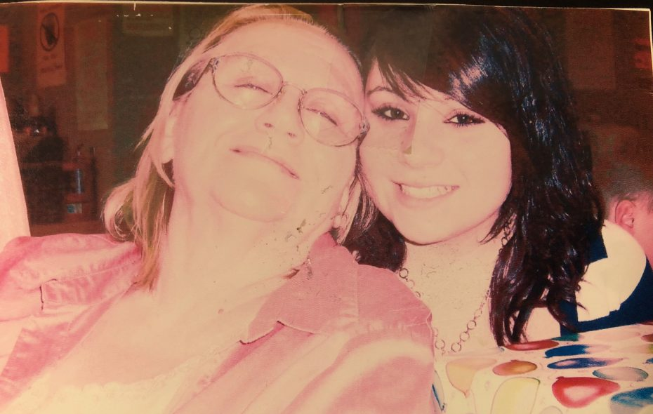 Shirley Burrows with her granddaughter. (Provided photo)