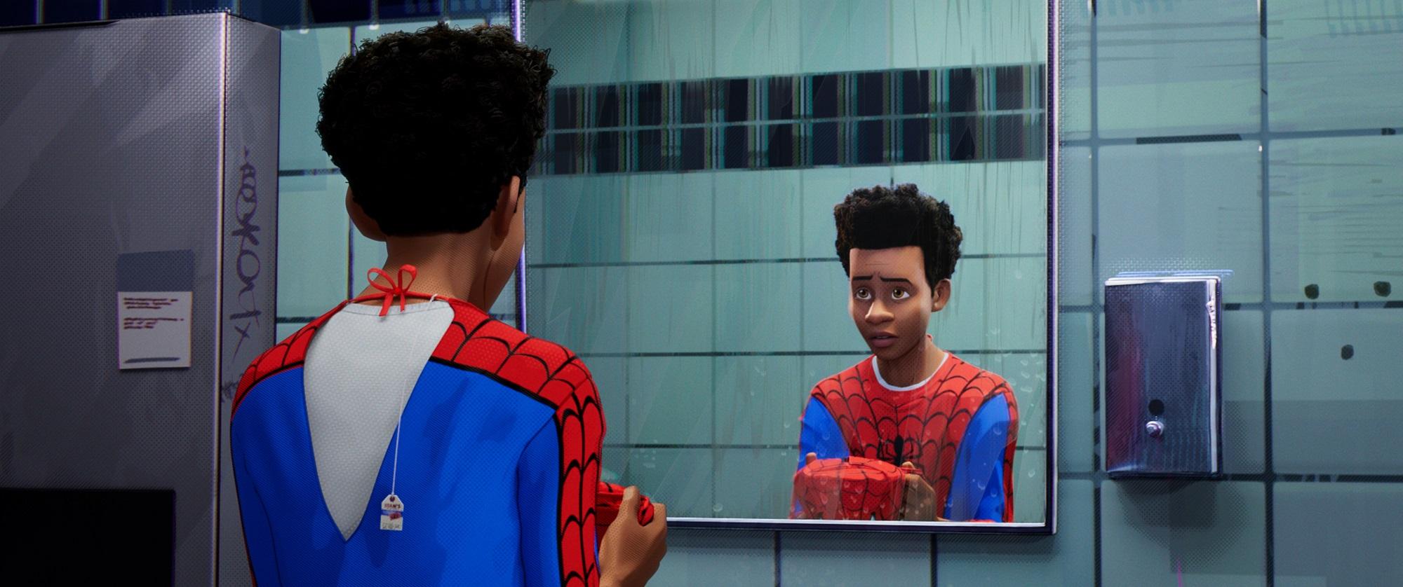 Risultati immagini per spider man into the spider verse