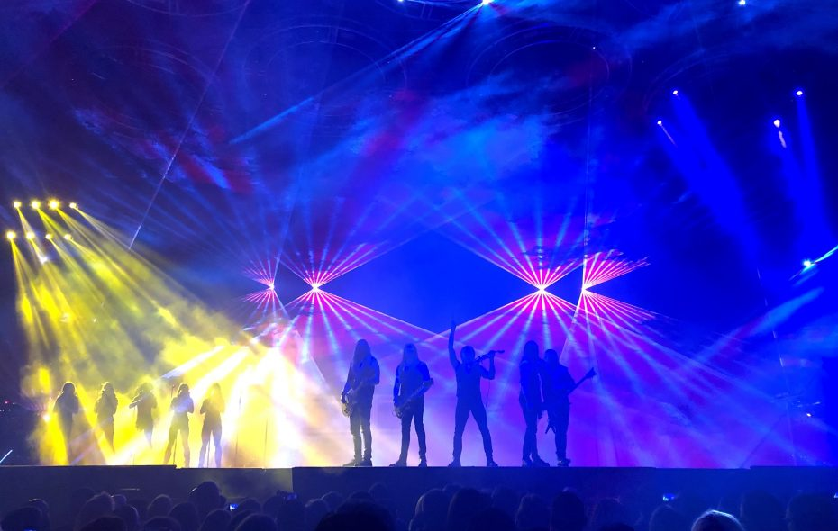 The Trans-Siberian Orchestra brought its spectacular annual holiday concert to KeyBank Center. (Nancy J. Parisi/Special to The News)