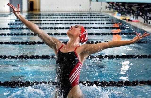 Natalia Vega (Photo: credit UIW Synchronized Swimming )