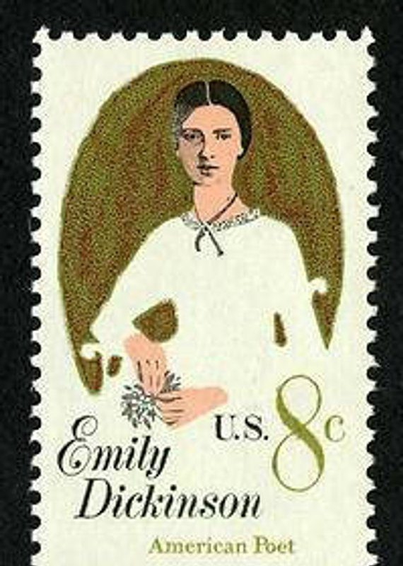 Emily Dickinson 8-cent postage stamp (1971)
