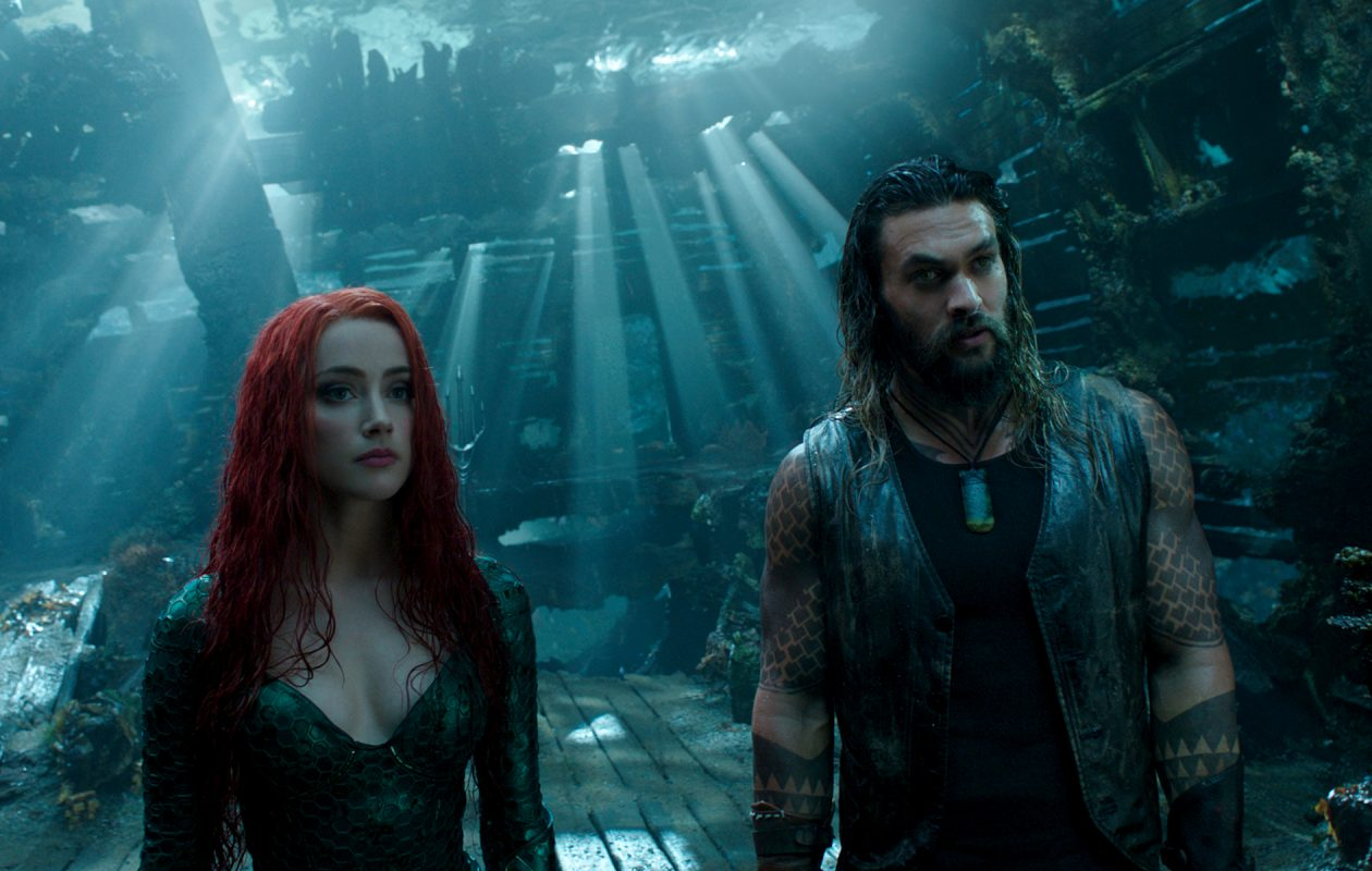 'Aquaman,' starring Jason Momoa and Amber Heard, is a bit too long and intense for kids younger than age 12.  (DC Comics-Warner Bros. Pictures)