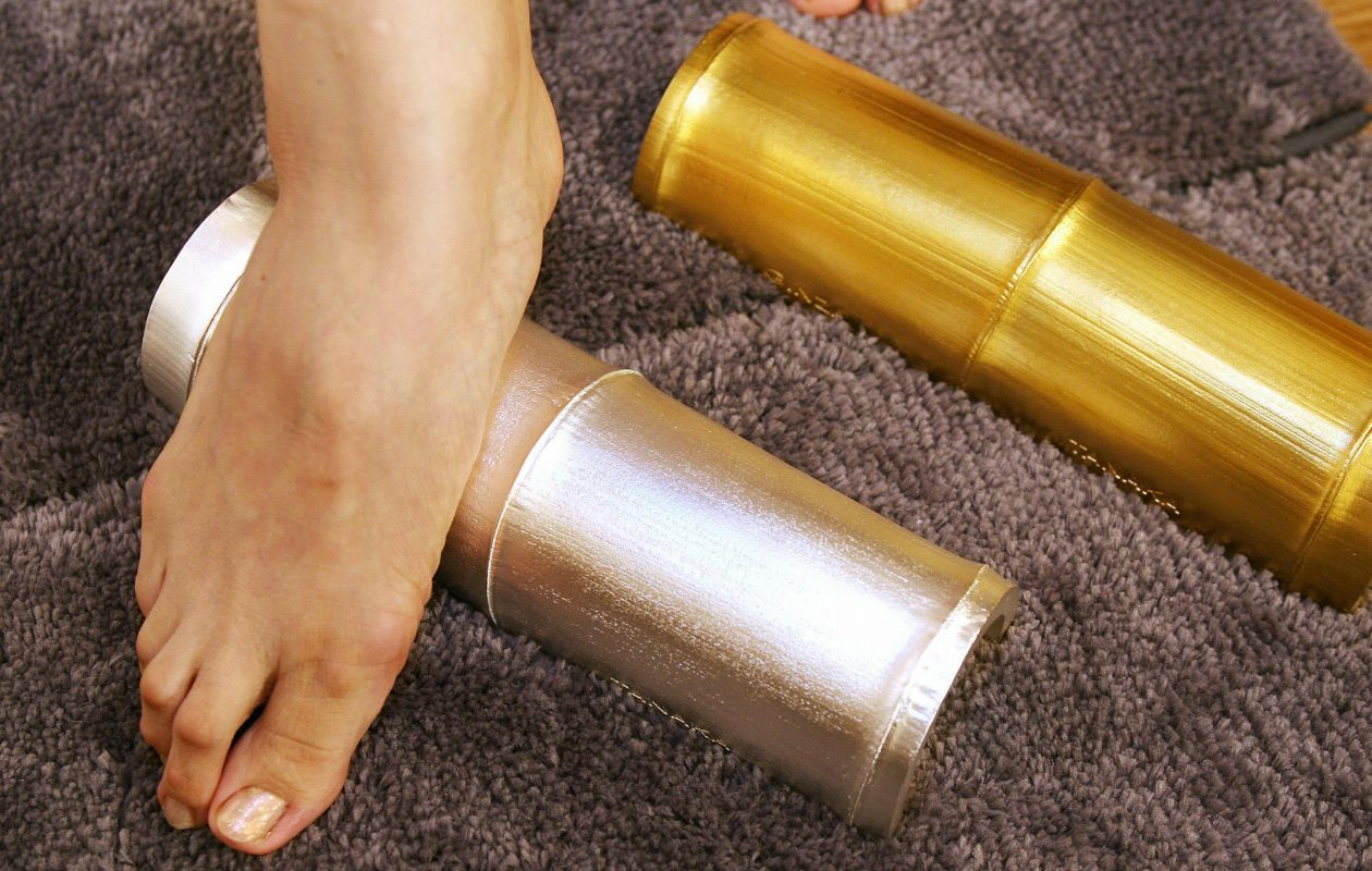Your FSA account will cover takefumi reflexology devices, but probably not solid gold and silver ones like these. (Getty Images)