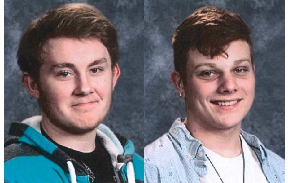 Joshua Sumeriski, left,  and Dominic McIntyre, two 15-year-old boys from the Town of Lockport, were reported missing Tuesday. (Provided photos)