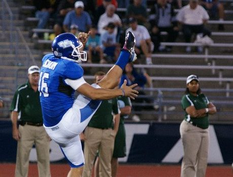 Jake Schum punted for UB before spending time with several NFL teams. (News file photo)