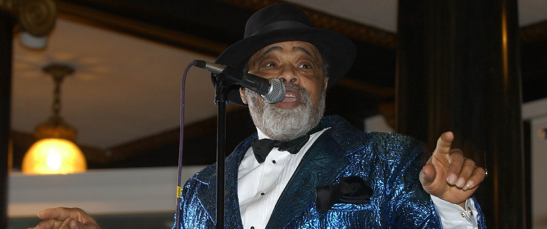 The venerable Lance Diamond performed at the Buffalo History Museum for the 2003 First Night Buffalo celebration, when it was still a multi-venue event. (Harry Scull Jr./News file photo)