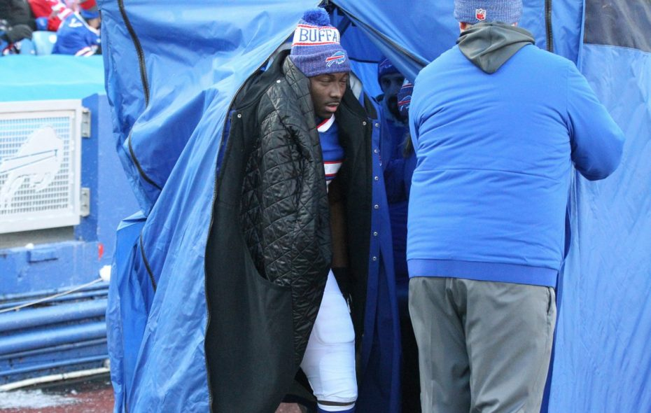 A hamstring injury suffered last week will keep LeSean McCoy out of the lineup Sunday. (James P. McCoy/Buffalo News)