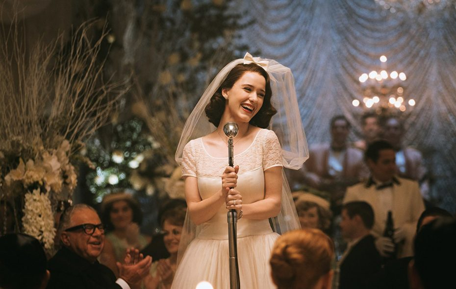"Rachel Brosnahan stars in ""The Marvelous Mrs. Maisel."""
