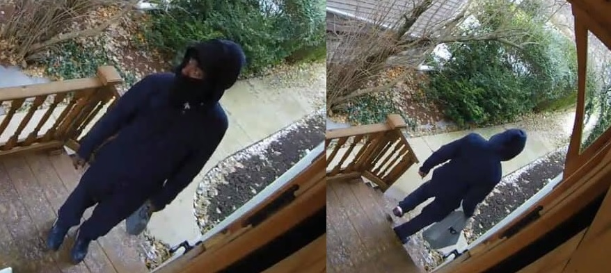 Police are looking for information about the theft of packages from homes in the Richmond Avenue area. (Buffalo Police)