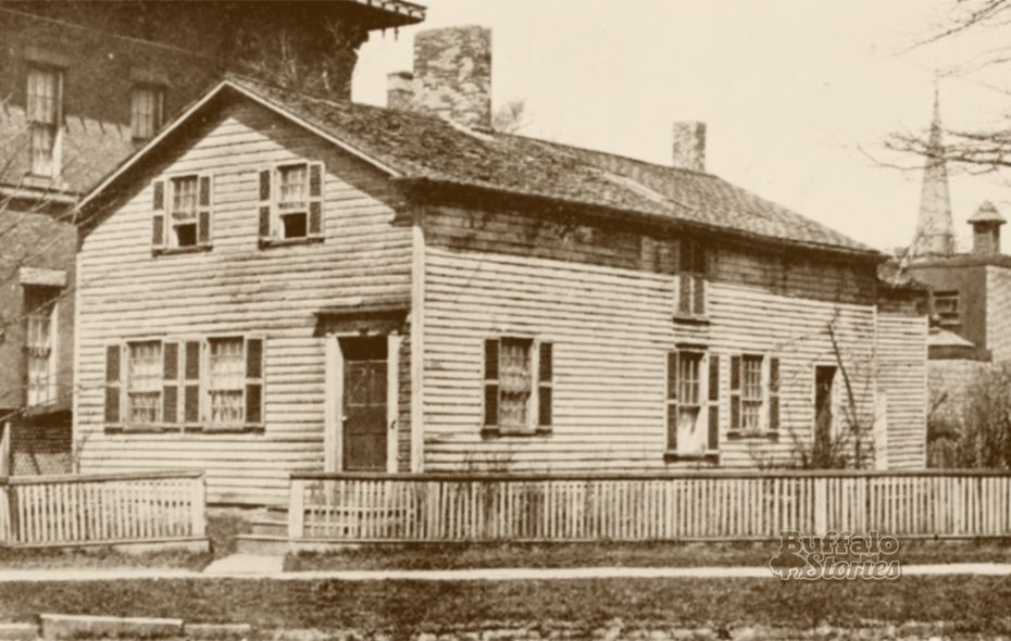 The Salisbury House stood in what is now the footprint of Statler City.