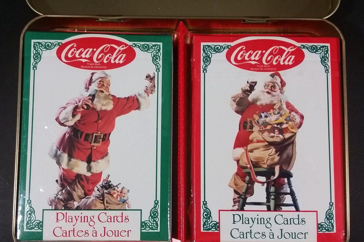 (1994 Coca-Cola Santa Claus playing cards)