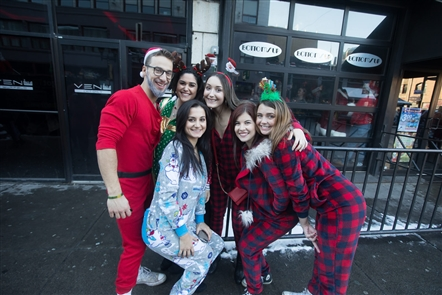 Santa costumes, Christmas pajamas and more festive attire could be seen on Chippewa on Saturday, Dec. 8, 2018, for the annual SantaCon Buffalo. See who strolled to several downtown bars.