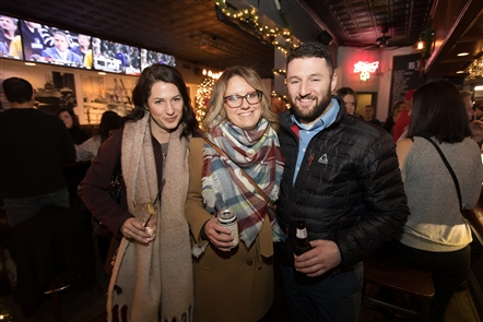 This shop local spectacular in South Buffalo featured businesses on Abbott Road, Seneca Street and South Park Avenue, among others, with a post-shopping outing party at Doc Sullivan's on Friday, Dec. 7, 2018.