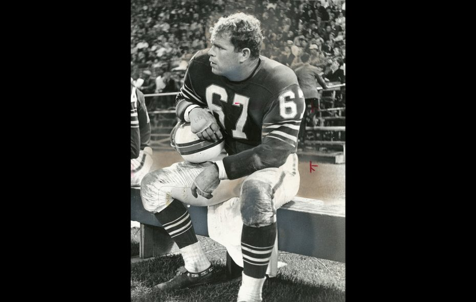 Joe O'Donnell of The Buffalo Bills in an undated photo. (News file photo)