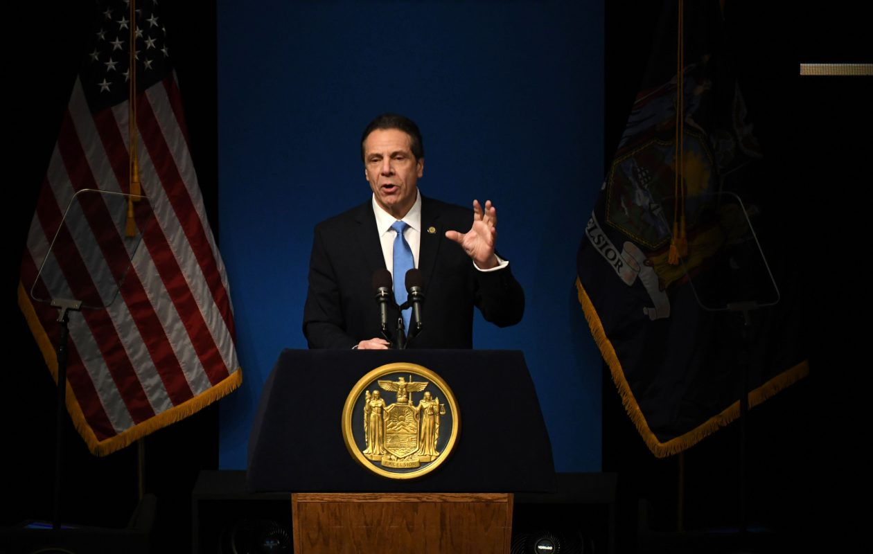 Gov. Andrew Cuomo, in his proposed budget unveiled this month, would eliminate one form of aid for 54 of the 57 villages and towns in Buffalo Niagara. (Will Waldron/Times Union)