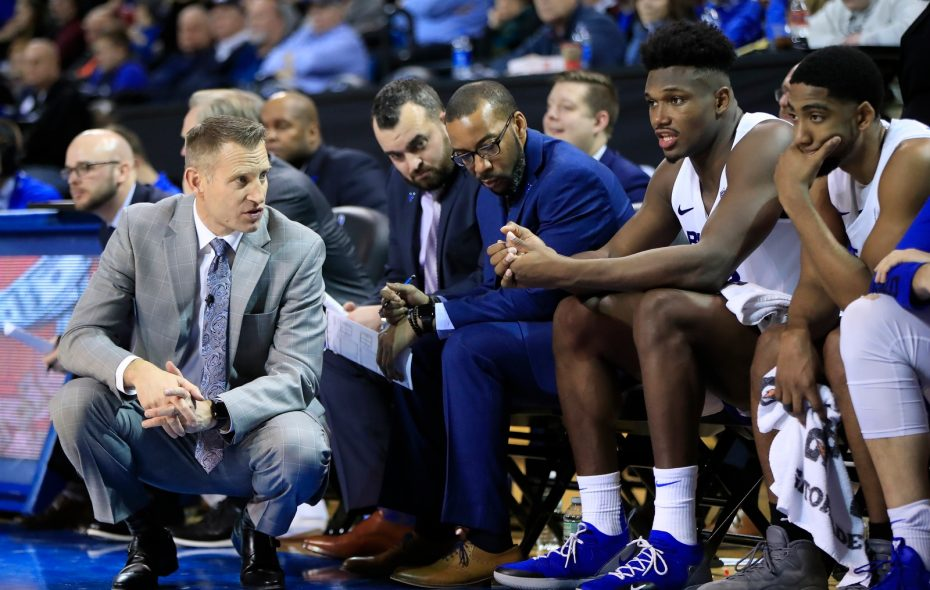 The No. 14 Buffalo men's basketball team plays at 6:30 p.m. Friday at Kent State. (Harry Scull Jr./News file photo)