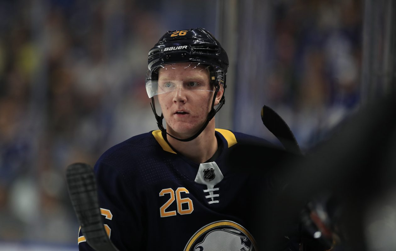 The Sabres have come to rely on 18-year-old Rasmus Dahlin as a dee763c8e
