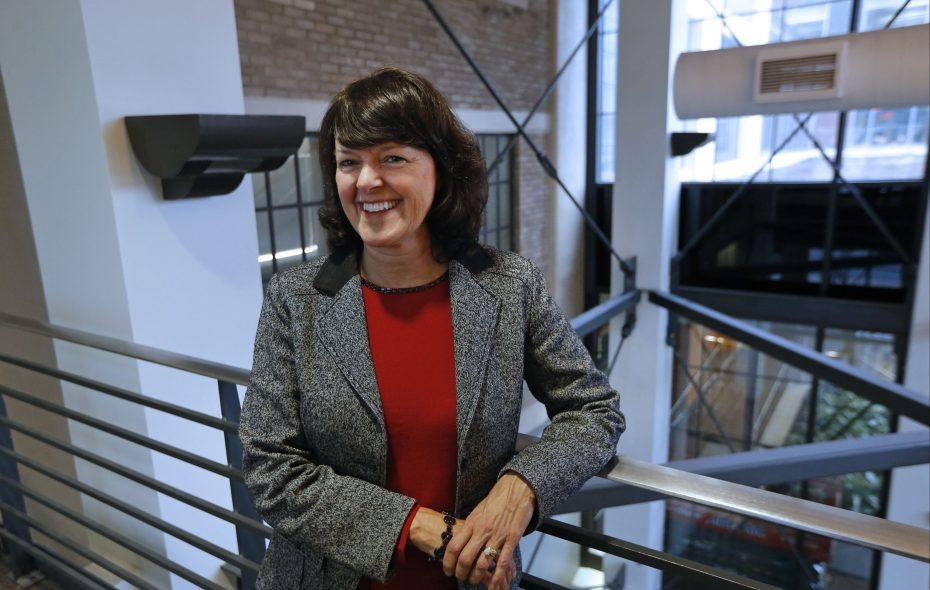 Marnie LaVigne, CEO of Launch New York. (Robert Kirkham/Buffalo News)