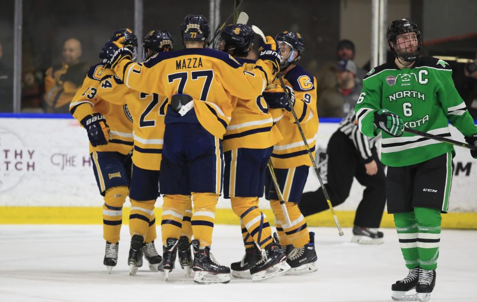 separation shoes b486b bce2d Canisius hockey delivers stunner, beats No. 13 North Dakota ...