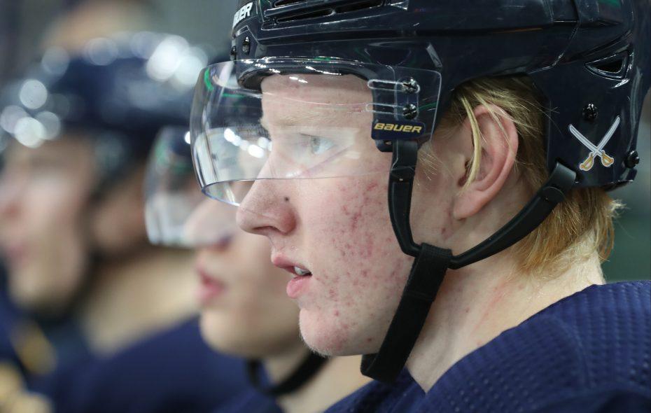 Buffalo Sabres defenseman Rasmus Dahlin. (James P. McCoy/Buffalo News file photo)