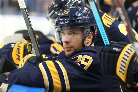 In perhaps their most dominant performance in nearly two months, the Sabres scored five second-period goals in a 5-1 win over the New Jersey Devils in KeyBank Center on Tuesday, Jan. 8, 2019.